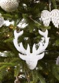 50% OFF Hanging hand carved Stags heads